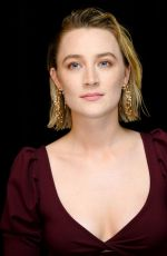 "Saoirse Ronan At ""Little Women"" Press Conference in LA"