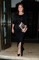 Sarah Ferguson Seen leaving Claridges Hotel after The Lady Garden Gala in London
