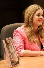 Sasha Pieterse Signs copies of her new book Sasha In Good Taste at Barnes & Noble at The Grove