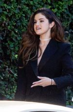 Selena Gomez Heading to a business meeting in Burbank