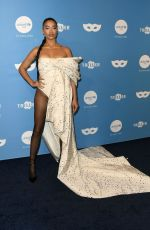 Shanina Shaik At UNICEF Masquerade Ball in West Hollywood