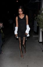 Shanina Shaik Leaving Catch L.A. in West Hollywood
