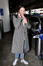 Sophia Bush At LAX Airport