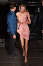 Stella Maxwell At Versace Fashion Show After Party - Milan Fashion Week