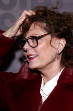 Susan Sarandon At Opening Night for The Sound Inside at Studio 54 in New York