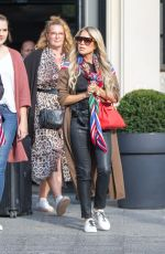 Sylvie Meis & Lilly Becker Filming a new episode of german TV Show