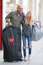 Tara Reid Shops for Halloween costumes in West Hollywood