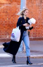Vanessa Kirby Out in New York City