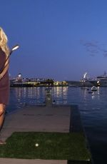 """Victoria Silvstedt Attends the draw of the teams for the """"Princess Of Monaco Cup"""" at Yacht Club de Monaco"""