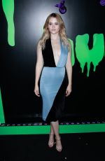 Virginia Gardner At Huluween Party at New York Comic Con in New York City