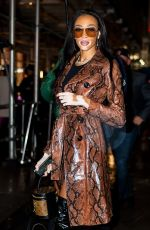 Winnie Harlow At the opening of the Nordstrom flagship store in NYC