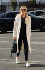 Witney Carson At the Dancing With The Stars dance studio in Los Angeles