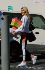 Witney Carson Seen arriving for practice at the Dancing With The Stars studio in Los Angeles