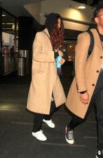 Zendaya Catching a flight out of LA on The Lax Airport with Darnell Appling in Los Angeles