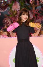Zooey Deschanel At Exclusive Preview of Crocs` Spring/Summer 2020 Collection in New York