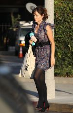 Zooey Deschanel Seen in Beverly Hills