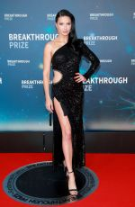 Adriana Lima At 8th Annual Breakthtough Prize Ceremony in Mountain View