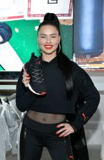 Adriana Lima Celebrates the launch of her new collection with PUMA at the PUMA Flagship Store in New York City