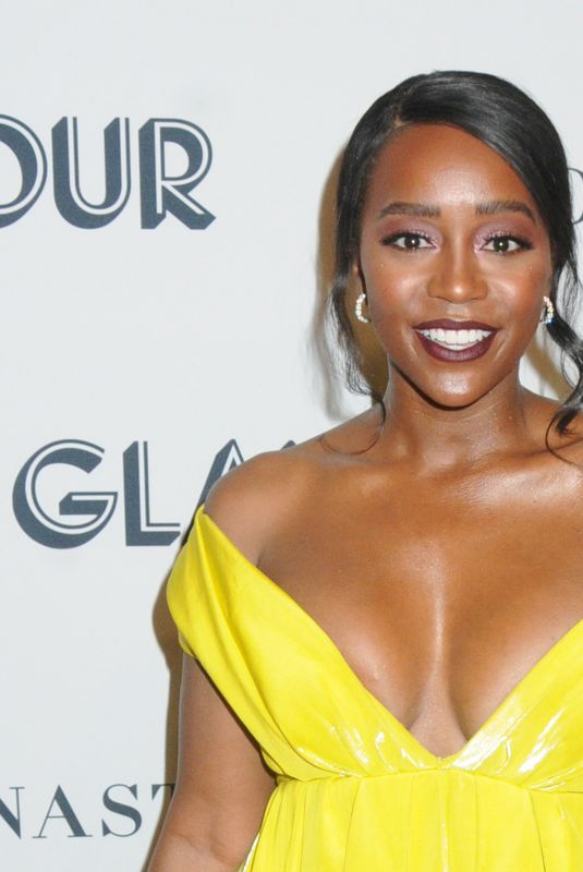 Aja Naomi King At Glamour Women of the Year Awards, Arrivals, New York