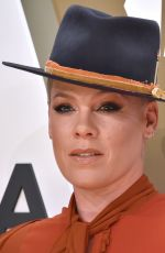 Alecia Moore (Pink) At The 53rd Annual CMA Awards in Nashville