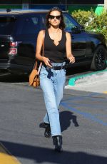 Alessandra Ambrosio Visits the application support center in Los Angeles