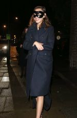 Alexa Chung and Orson Fry leave LayLow Halloween Party in London