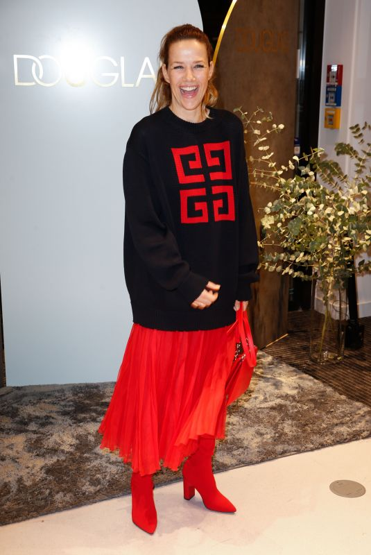 Alexandra Neldel At the opening of the Douglas Flagship Store in Berlin