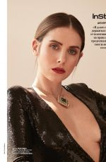 Alison Brie - Instyle (Russia) - December 2019