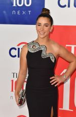 Aly Raisman At Time 100 Next at Pier 17 in New York City