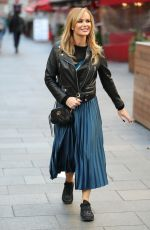 Amanda Holden Leaves Heart Radio in London