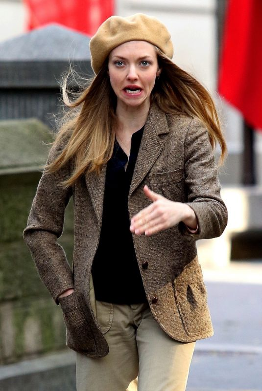 "Amanda Seyfried On the set of ""Things Heard and Seen"" in NYC"