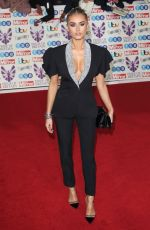 Amber Davies On the red carpet at The Daily Mirror Pride of Britain Awards, in partnership with TSB