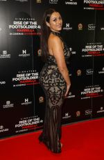 Amel Rachedi Attend Rise of the Footsoldier 4: Marbella at Troxy in London