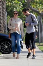 Amy Adams and her husband Darren Le Gallo step out together in Beverly Hills