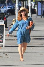 Amy Adams In blue while out with her husband Darren Le Gallo in Beverly Hills