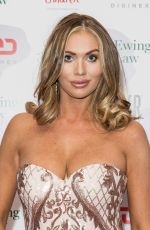 Amy Childs At Caudwell Children Float Like A Butterfly Ball at Grosvenor House in London