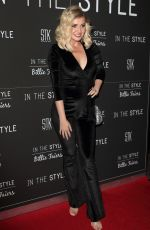 Amy Hart Arrives on the red carpet during the In The Style x Billie Faiers Launch event at STK London