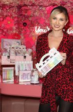 Amy Hart Attends the Beauticology x Elan Cafe Launch in Knightsbridge, London