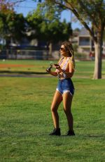 Ana Braga Leaves little to the Imagination while at the park in Los Angeles