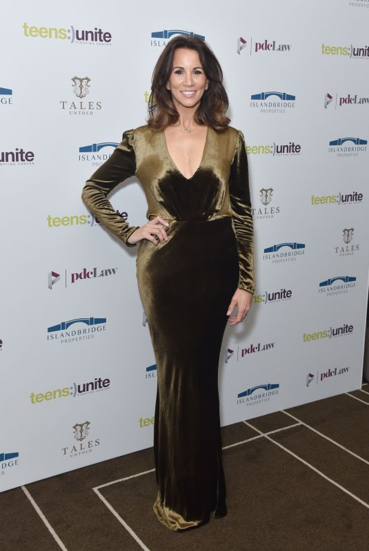 Andrea McLean Attends the Teens Unite annual fundraising gala held at the Rosewood Hotel in London