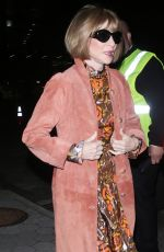 Anna Wintour At CFDA Vogue Fashion Fund Awards, New York
