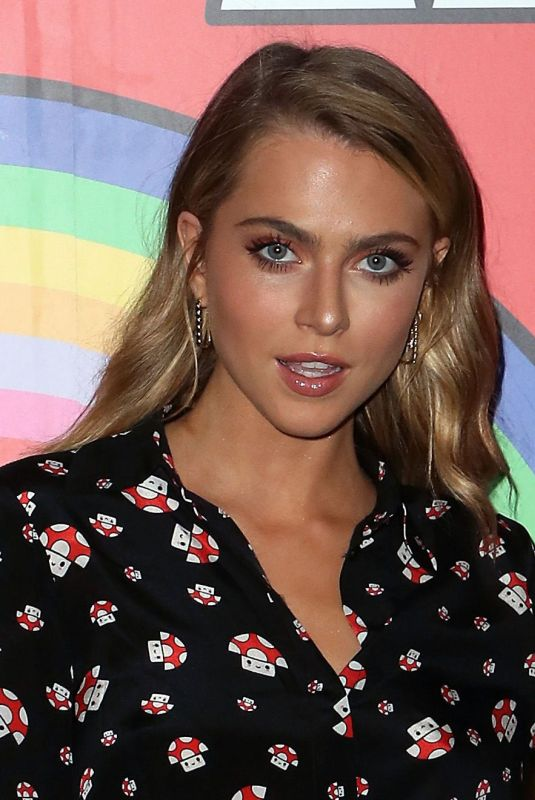 Anne Winters At GUESS Kicks-off Holiday Season at The Peppermint Club in LA