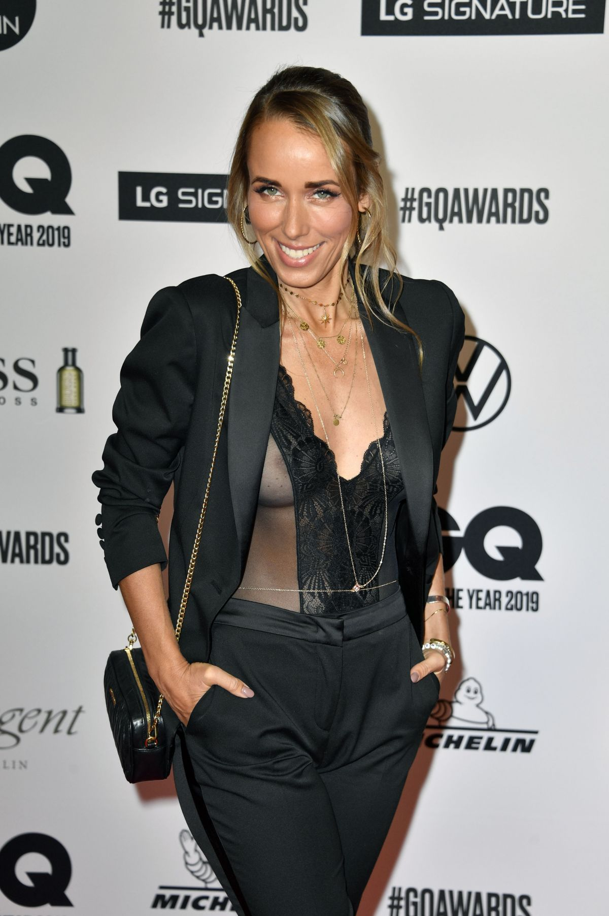 Annemarie Carpendale At the 2019 GQ Men of the Year Awards