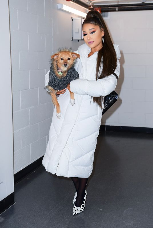 Ariana Grande At Sweetener World Tour Backstage in Charlottesville