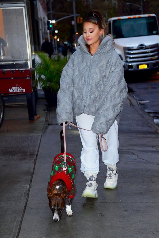 Ariana Grande Out in NYC