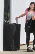 Ariel Winter Pulling her luggage in Studio City