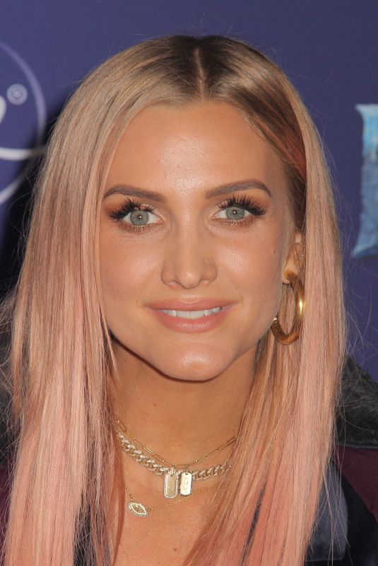 Ashlee Simpson At World Premiere of