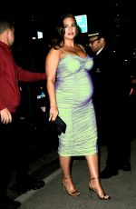 Ashley Graham Arrives at the CFDA/Vogue Fashion Fund awards in New York City