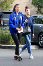 Ashley Greene Shopping for groceries with a friend in Beverly Hills