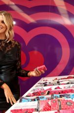 Ashley James Opens the Lovehoney Pop Up Christmas Gift Shop in Neal Street, Covent Garden, London